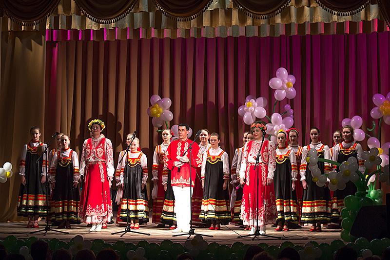 Праздничный концерт к 8 марта, ГДК. Шуя
